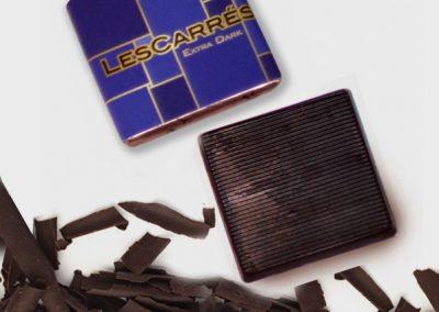 Chocolatina Les Carrés extra-dark