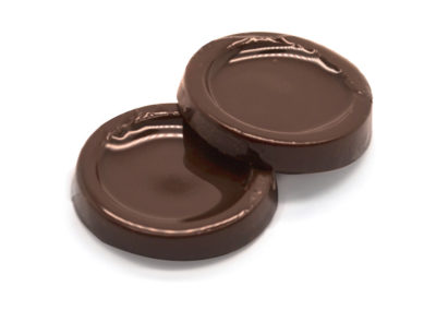 Chocolate botón