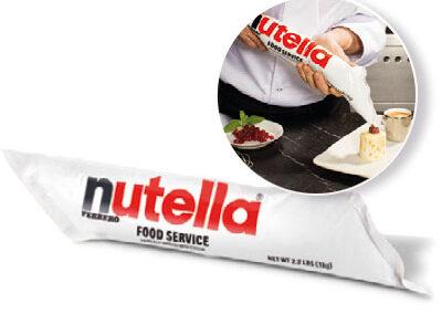 Nutella, manga pastelera